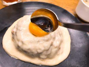 白いチーズカレーの写真その3