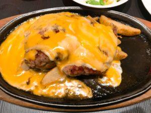 チーズフォンデュステーキの写真その2