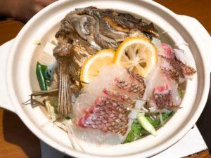 鯛柚子鍋の写真その1