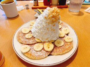 エッグスシングスのパンケーキ